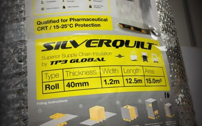 SilverQuilt: Next generation thermal protection for temperature-sensitive cargo